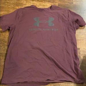 Maroon Under Armour t-shirt size XXL